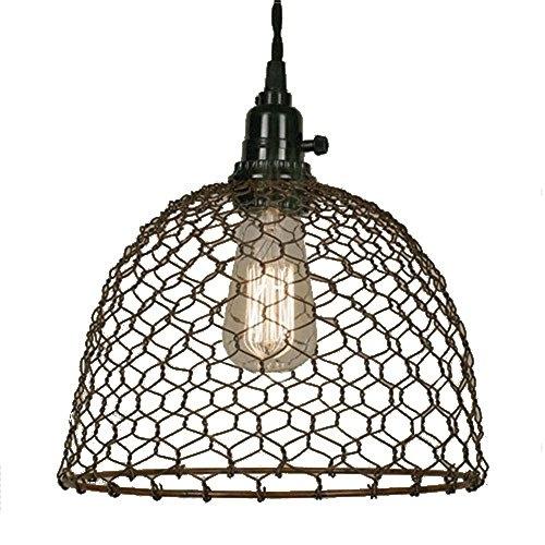 En Wire Dome Pendant Light In