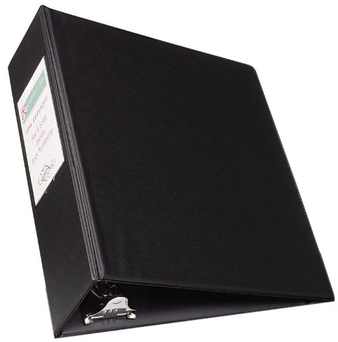 Avery Mini Durable View Binder for 5.5 x 8.5 Inch Pages 0.5 inch Round Ring