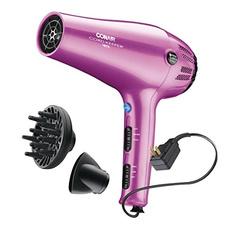 pink, cordkeeper, Hair Dryers, Beauty