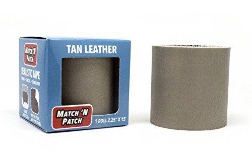 Match /'N Patch Tan Leather Repair Tape