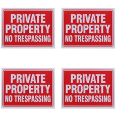 Pack, trespassing, inch, property