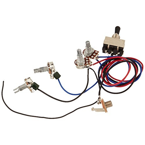 Zorvo Guitar Wiring Harness Kit 2V2T 3 Way Toggle Switch for Gibson on gibson es-335 wiring, gibson les paul wiring mods, gibson 50s wiring, gibson switch wiring,