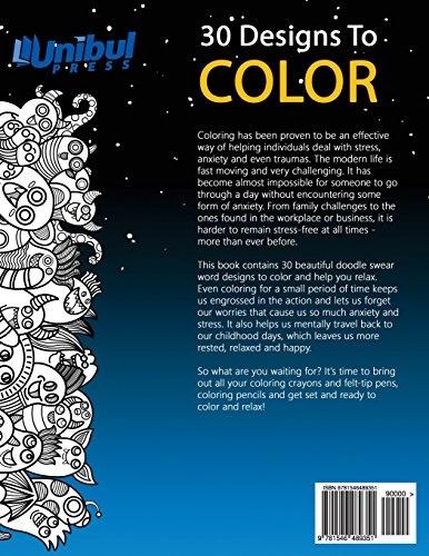 Geek | This Is Bullshit Adult Coloring Book: 30 Amazing ...