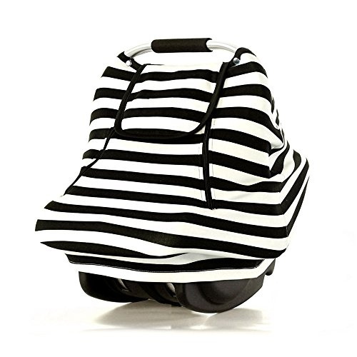 Infant Car Canopy for Spring Stretchy Baby Car Seat Covers For Boys Girls