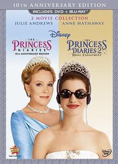 diarie, Princess, threedisc, DVD
