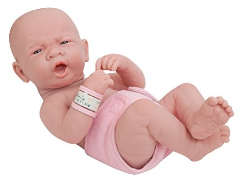 """Realistic 14/"""" Anatomically Correct Real Girl Baby Doll All Vinyl /""""First Yawn/"""""""