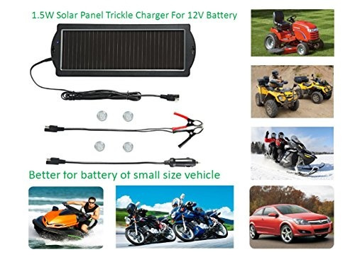 Wish Sunway Solar Car Battery Trickle Charger Portable Solar Panel