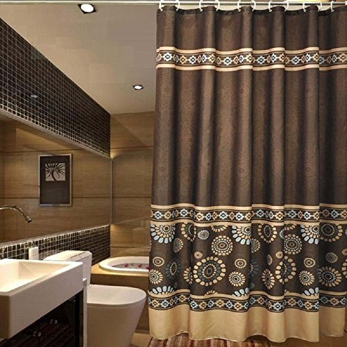 Bathroom Fabric Shower Curtain Sets