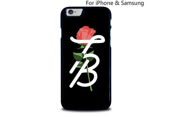 TESSA BROOKS FLOWER LOGO iphone case