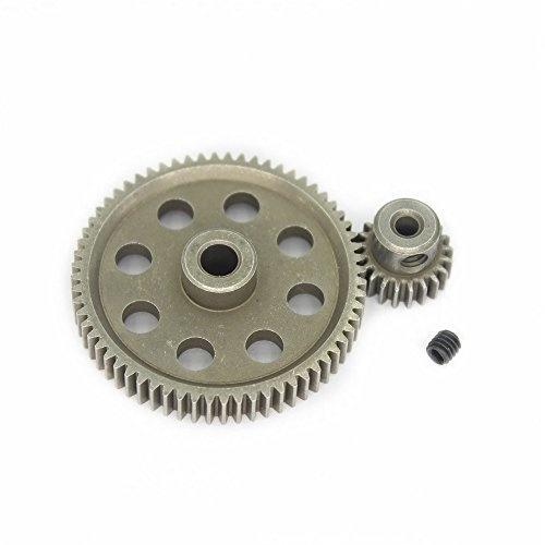 HSP RC 1//10 11184 /& 11181 Differential Metal Steel Main Gear 64T Motor Gear 21T