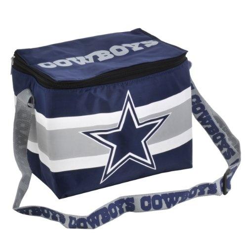 Nfl Dallas Cowboys Lunch Bag Metallic Silver Blue