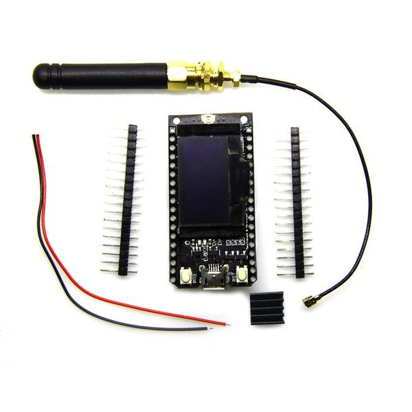 TTGO LORA32 868/915Mhz ESP32 LoRa OLED 0 96 Inch Blue Display Bluetooth  WIFI ESP32 ESP-32 Module with Antenna