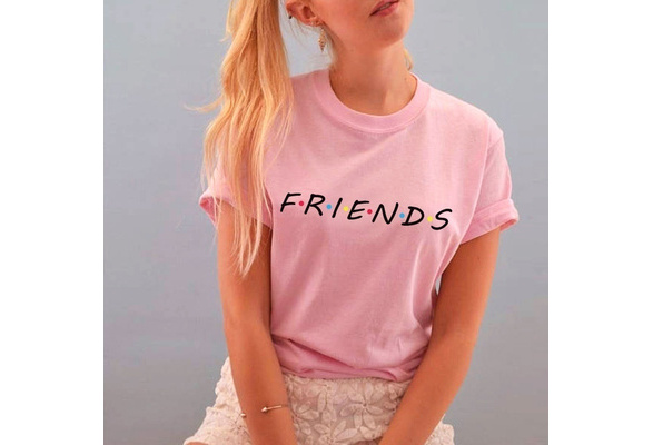 FRIENDS TV SHOW Women's' hoodies casual sweatshirt cotton tee lovely t-shirts girl's tops pullover letter print t shirts S-3XL 15 color