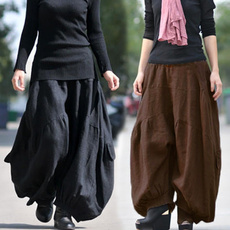 harempantswomen, lanternpant, widelegpantswomen, trousers
