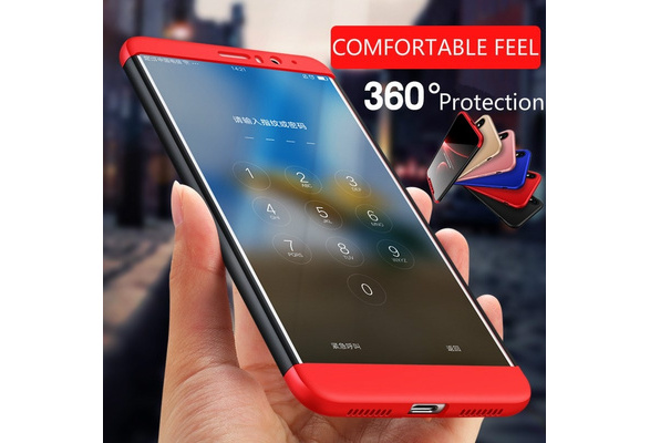 High Quality Matte 360 Degree Shield Full protection Phone case For iPhone X 8Plus 8 7 6s 6 Plus 5S Samsung Note 8 S8 Plus S7 S6 Edge J3J5J7 2017 Huawei Mate10 Mate 10lite Honor 9 V9 Honor 8 8Pro Honor 6X P10 P10Plus mate 9 Nova2 Plus GR5(2017) XiaoMi 6 5s 5 RedMi Note4 4X Max 2 OnePlus 5 Case