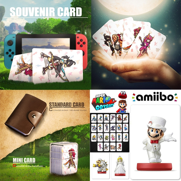 22Pcs All Switch Amiibo NFC Tag Cards BOTW OOT SSB Link Chatacters for NS  (Color: Multicolor)