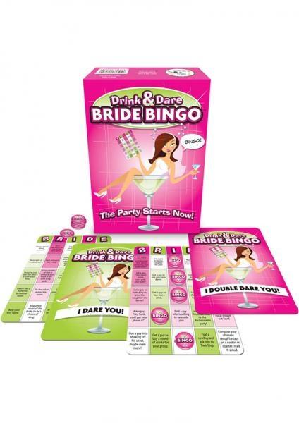 Bride Bingo Novelty Board Game For Hen Parties