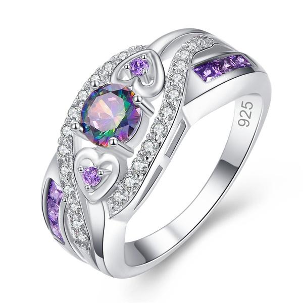 Sterling, rainbow, exquisite jewelry, Jewelry