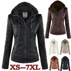 Plus Size, Outerwear, Long Sleeve, Coat