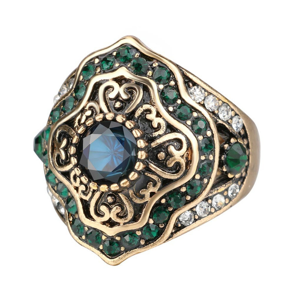 bohemia, Antique, Fashion, Women Ring