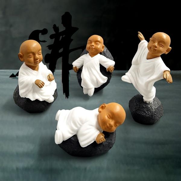 Bonsai, Figurine, Garden, Chinese