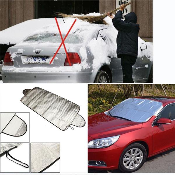Windschutzscheibenabdeckung Schnee und Eis für Car Frost Guard Winter Protector