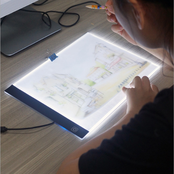 5V LED Art Light Box Thin  Stencil Board Tracing Drawing Board Supply Tattoo A4