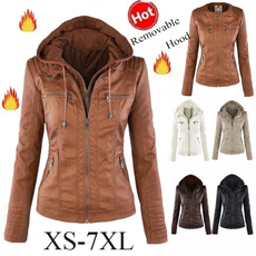 Manga, Long Sleeve, wintercoatsforwomen, Motorcycle