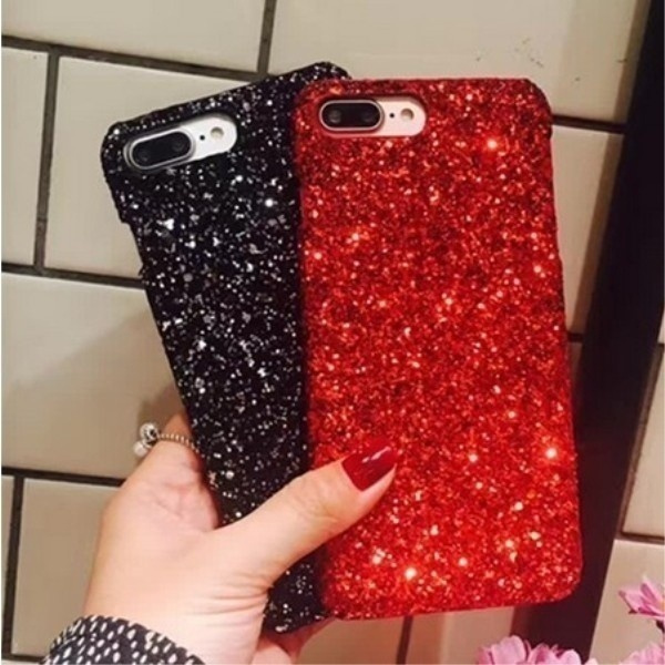 Christmas Iphone X Case.Sparkling Glitter Christmas Phone Cases Covers For Iphone X 8 8plus 7 7plus 6 6s 6plus 5s 5 Se Coque Fundas Capinha Celular For Iphone Upgrades