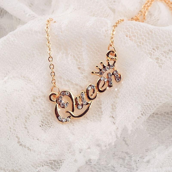 goldplated, Chain Necklace, Fashion, cutenecklace