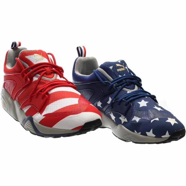 Sneakers, blaze, americana