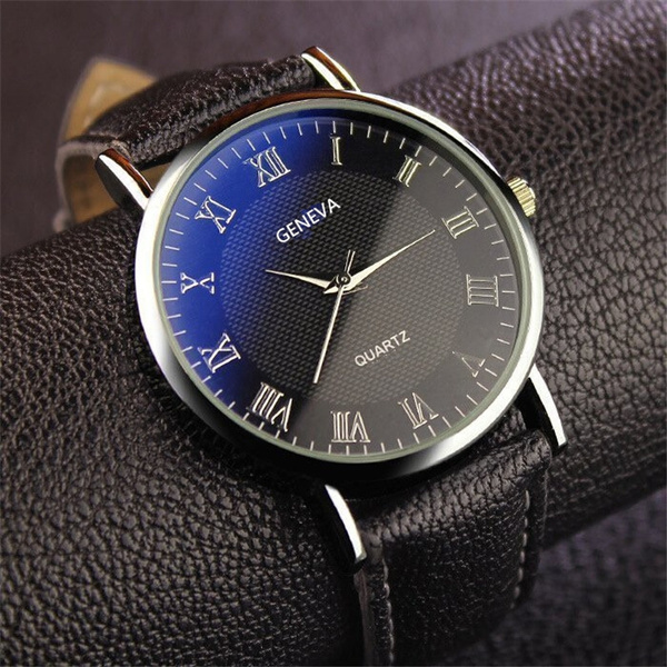 quartz, fashion watches, leather, Watch