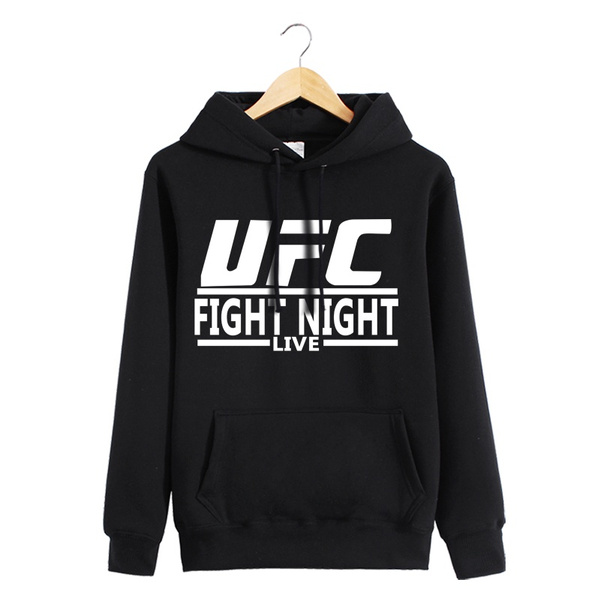 1fa187cdc594 Autumn and winter men's sports ufc sweater, mma comprehensive combat  training hoodie, men and women sports and fitness clothing