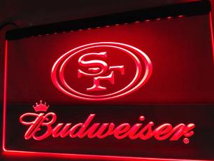 49ers, SAN FRANCISCO 49ERS, Sport, Neon