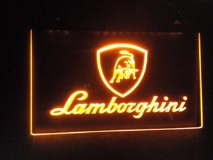 Neon, Lamborghini, automotivemotorcycle