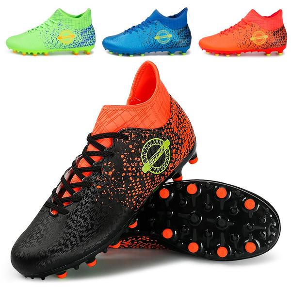 d31be42c12ff0 Size 38-44 Men Boys Soccer Shoes Football Boots Waterproof Soccer ...
