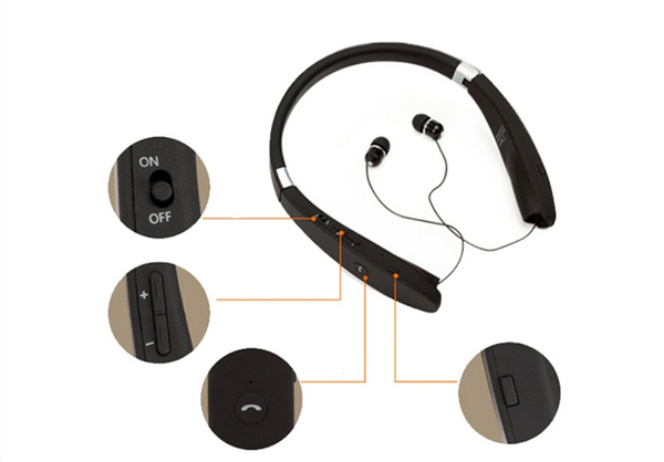 27046a2af35 Wish | Suicen SX-991 Sports Bluetooth Headphones Retractable ...