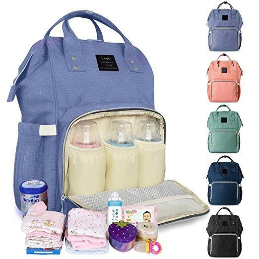 0d29fe3fcb40 LAND Mummy Maternity Nappy Diaper Bag Large Capacity Baby Bag Travel  Backpack