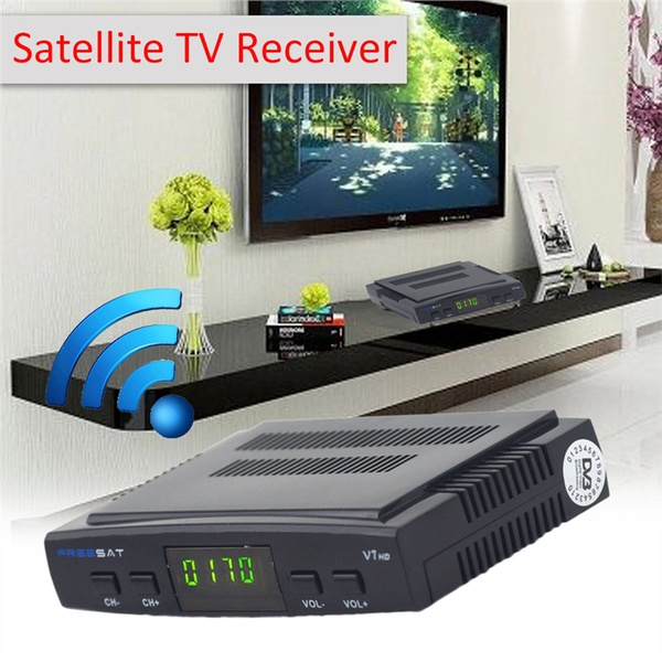 Freesat V7 HD DVB-S2 + USB P owervu WIFI RTL-SDR Satellite TV Receiver  Completely Supporting Cccam