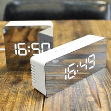 led, Clock, lights, Interior Design