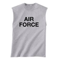 Gray, airforcetshirt, airforce, heavyweight