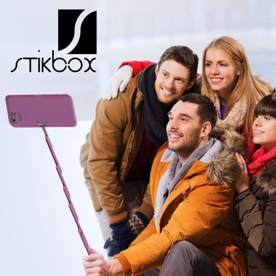 differently cde71 aabc1 Wish | StikBox Selfie Stick Phone Case with Bluetooth Remote - for ...