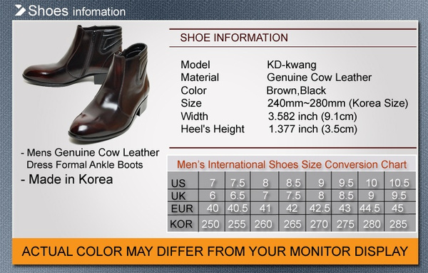 Mens Shoes Cow Leather Dress Formal Casual Chelsea Zip Ankle Boots