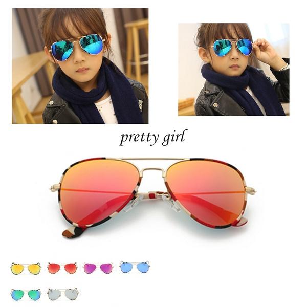 Fashion Baby Boys Kids Sunglasses Piolt Style Brand Design Children Sun Glasses