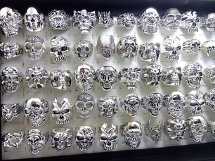 Fashion Jewelry, Goth, Skeleton, skull
