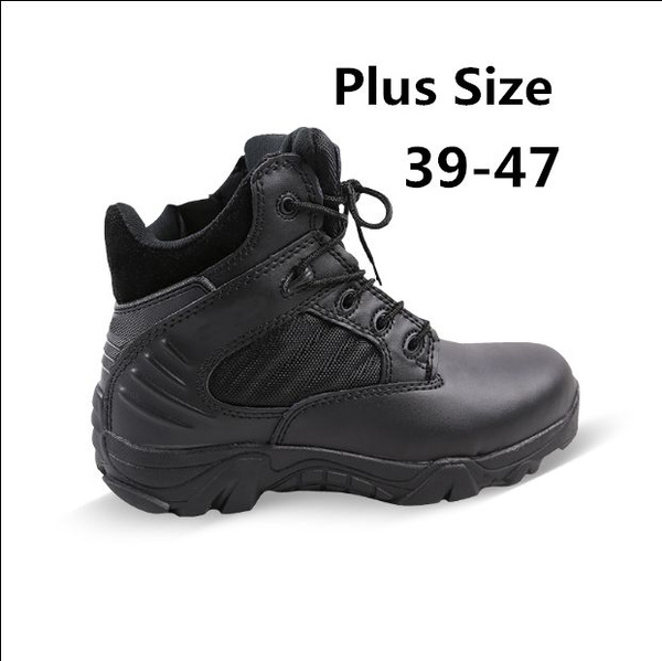 cefabf41af1 Men Fashion Classic Casual Tooling Boots Military Tactical Boots Special  Forces Army Combat Desert Boots Hiking Boots Men/Women Working Shoes  Non-Slip ...
