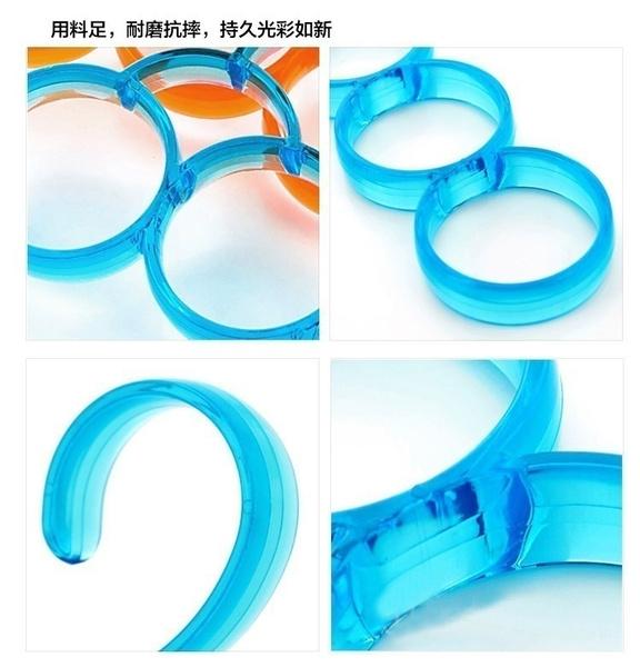 Wish | (5 PCS) Haute qualité cintres 6 cercle écharpe portant ...