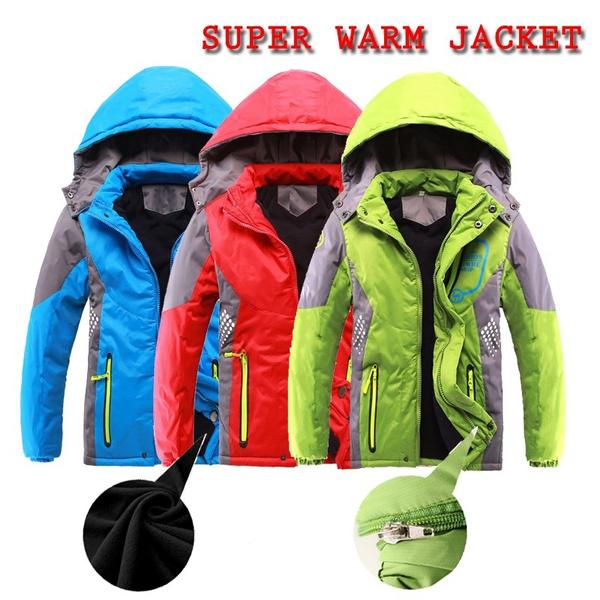 Boy, hooded, Winter, Waterproof