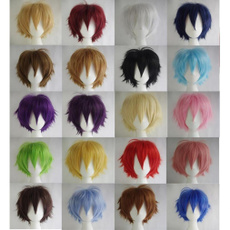 wig, Hairpieces, Cosplay, Shorts