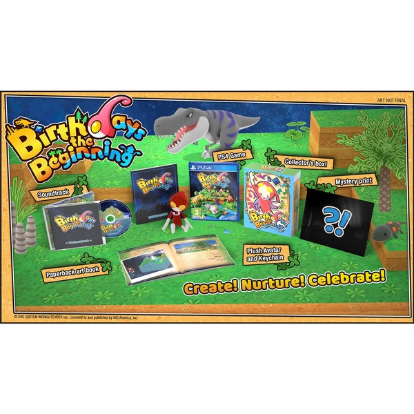 Sony PlayStation 4 Birthdays the Beginning LIMITED EDITION Video Game